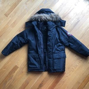 Youth boys winter coat